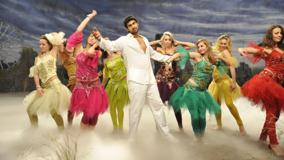 Rana Daggubati In White Dress Dancing In Naa Ishtam